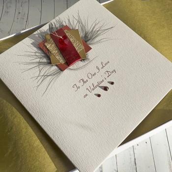 """Luxury Valentine's Day Card """"Spritz"""""""