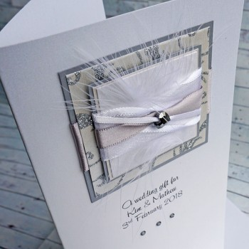 Wedding Gift Wallet Champagne