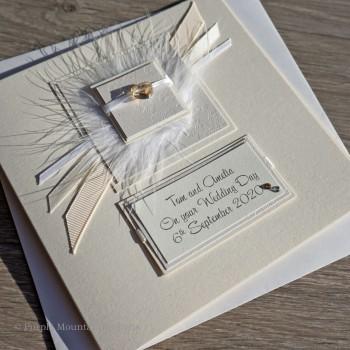 Elegance Wedding Card