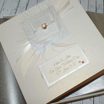 Elegance Boxed Wedding Card