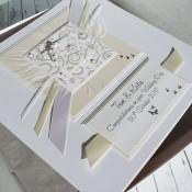 Ivory & Cream Wedding Card