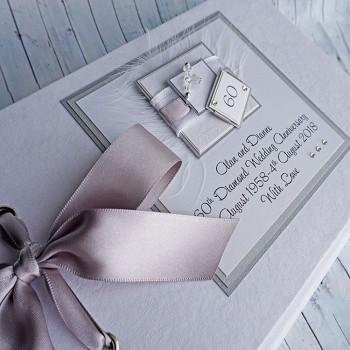 Diamond Wedding Anniversary Guest Book