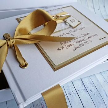 Golden Wedding Anniversary Guest Book