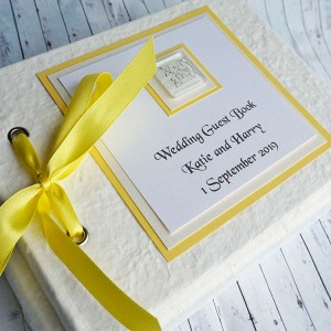 Lomond Wedding Guest Book - Textured Finish