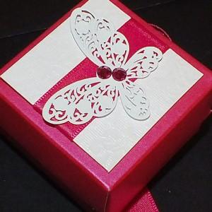 Harris wedding favour box