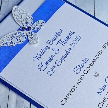 Harris Handmade Wedding Menu