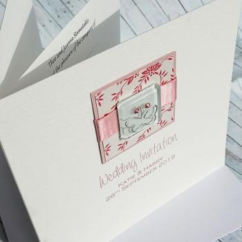Iona Classic Handmade Wedding Invitation