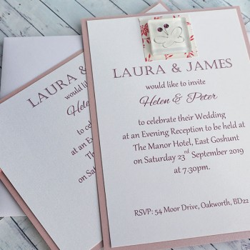 IONA Handmade Flat Wedding Invitation