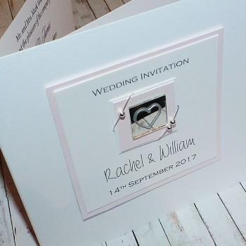 Jura Wedding Invite - Pink