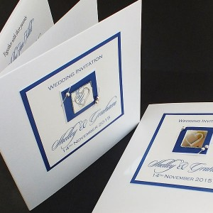 Jura Wedding Invite - Blue
