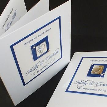 Jura Wedding Invite - Blue