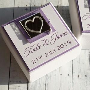 Jura wedding favour box