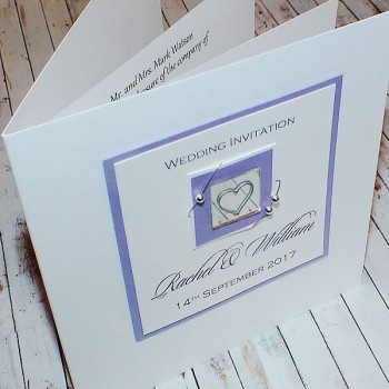 "Handmade Wedding Invitation ""Jura"""
