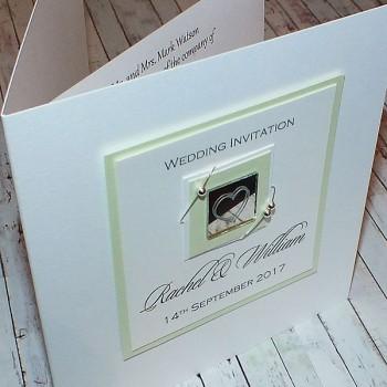 Jura Wedding Invite - Green