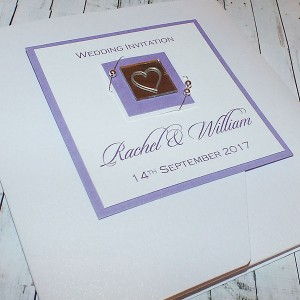 "Pocketfold Wedding Invitations ""Jura"""