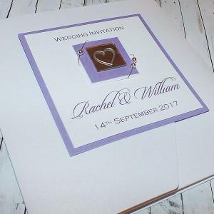 """Pocketfold Wedding Invitations """"Jura"""""""
