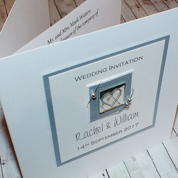 Jura Wedding Invite - Silver