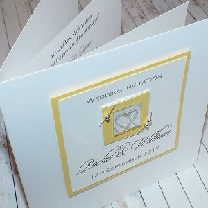 Jura Wedding Invite - Yellow