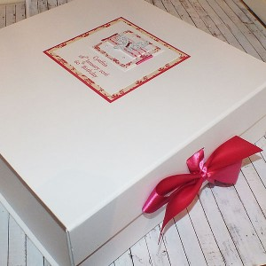 Butterflies & Ribbons Birthday Keepsake Box