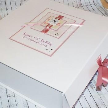 Cat Birthday Keepsake Box