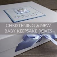 Christening Keepsake Boxes