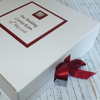 Miami Wedding Keepsake Box