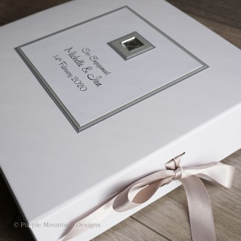 Engagement Keepsake Box