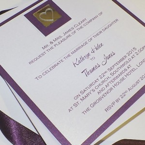 LEVEN Flat Handmade Wedding Invitations