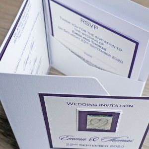 Leven Pocketfold Wedding Invitations