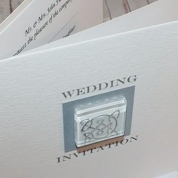Lomond Classic Handmade Wedding Invite