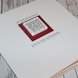 Lomond Wedding Invite - Red