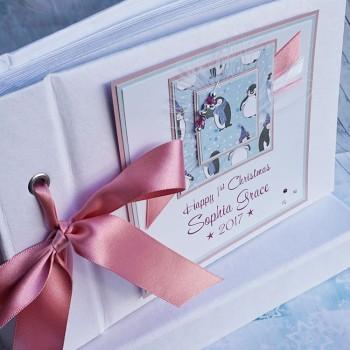 Christmas Photo Album for Girl