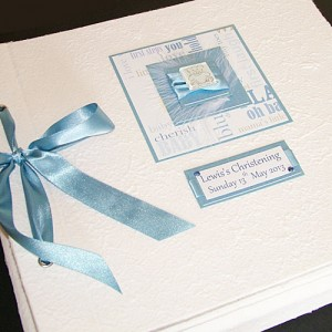 Christening or New Baby Photo Album