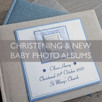 Christening and New Baby Photo Albums