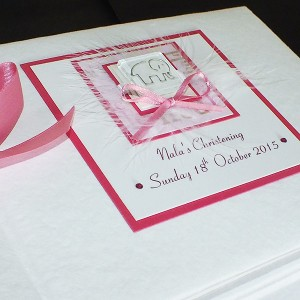 Christening Photo Album for Girls