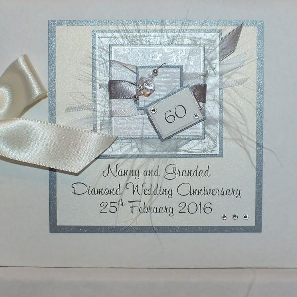 Diamond Wedding Anniversary Gift: 60th Wedding Photo Album