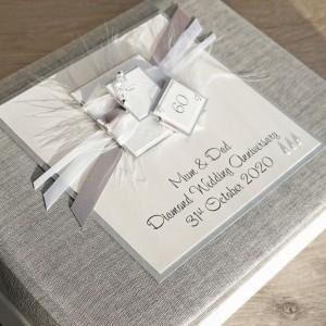 Diamond Wedding Anniversary Photo Album - Small size