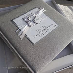 Diamond Wedding Anniversary Photo Album - Medium Size