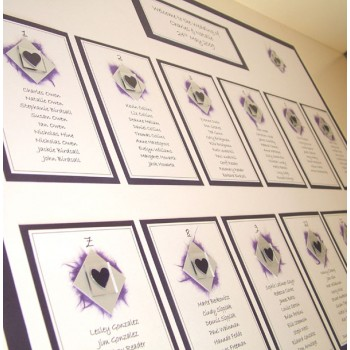 Assynt Wedding Table Plan