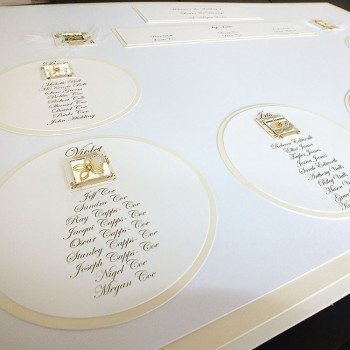 Eden Wedding Table Plan