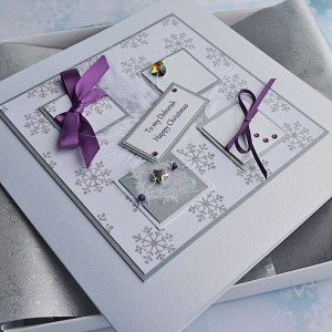 "Luxury Boxed Christmas Card ""Blizzard"""