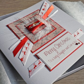 "Luxury Boxed Christmas Card ""Cocktail"""