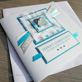 "Luxury Christmas Card ""Frosty"""