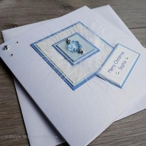 "Luxury Christmas Card ""Ice"""