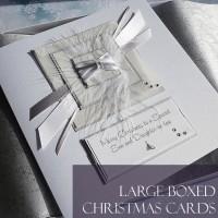 Large luxury boxed Christmas Cards