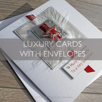 Luxury Christmas Cards with envelopes