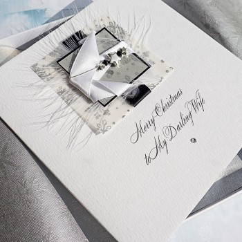 "Luxury Boxed Christmas Card ""Midnight Snowfall"""