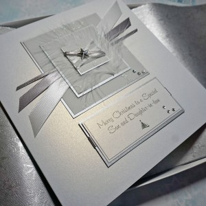 "Luxury Boxed Christmas Card ""Silent Night"""
