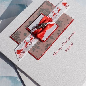 "Luxury Christmas Card ""Sleigh Bells"""