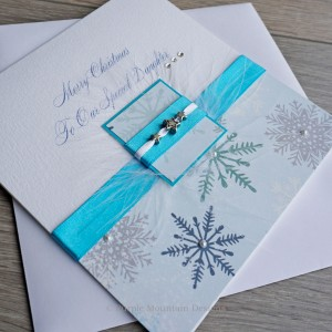 "Luxury Christmas Card ""Winter Treats"""